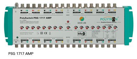 Зеленая линия PSG 1717 Amp